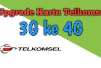CaUpgrade Kartu Telkomsel