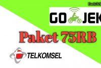 Paket Telkomsel Gojek 75RB