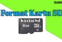 Cara Format Kartu SD