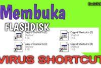Cara Membuka Flasdisk dari virus shortcut