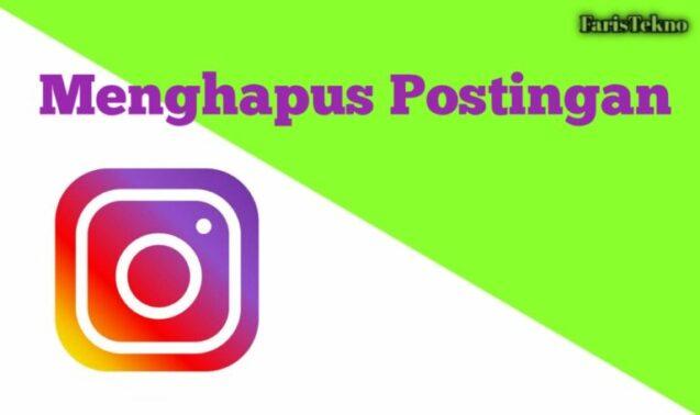 Cara Menghapus Postingan di Instagram Melalui PC
