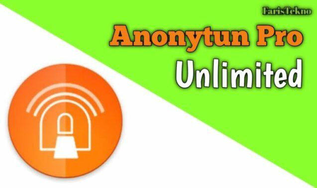 Anonytun Pro Unlimited Mod APK