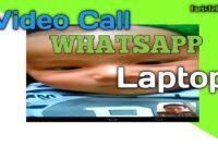 Cara videocall wa di laptop