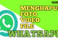 Cara Menghapus Sampah Foto Video dan File Whatsapp