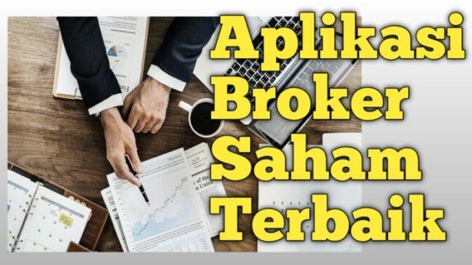 Aplikasi Broker Saham Terbaik